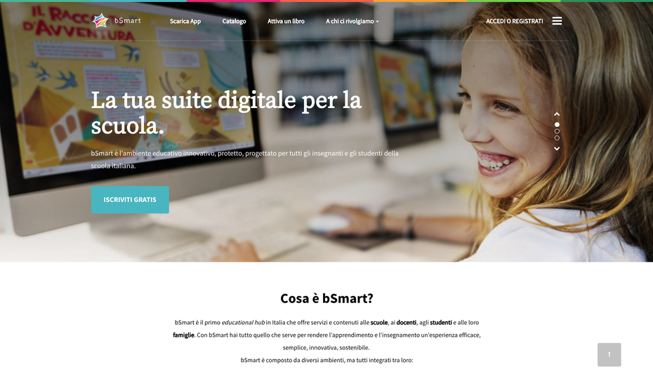 Homepage bSmart.it