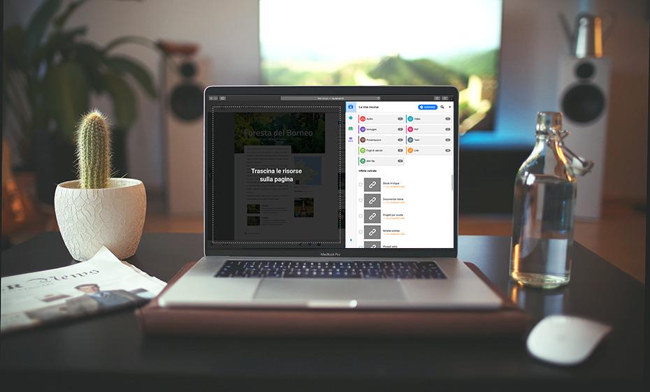 Abbiamo una novità per il rientro in classe con bSmart: un pannello delle risorse tutto nuovo, con ancora più funzionalità per gestire i vostri contenuti!