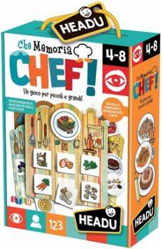 Che memoria chef - Giochi Natale 2019