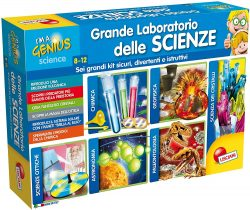 Grande laboratorio delle scienze - Giochi Natale 2019