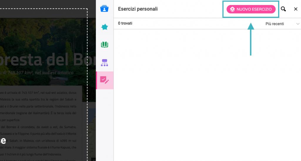 Esercizi personalizzati bSmart
